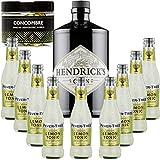 Hendricks Gin 41,3 ° + 9Fever siciliano Lemon Tree Agua - - Gintonic (70cl + 9 * 20 cl) + Pot 50 rodajas de pepino se secan.