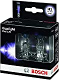 Lámpara Bosch para faros: Plus 120 Gigalight H1 12V 55W P14,5s (Lámpara x2)
