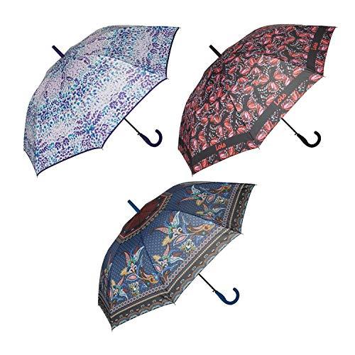 Lois, paraplu, zwart
