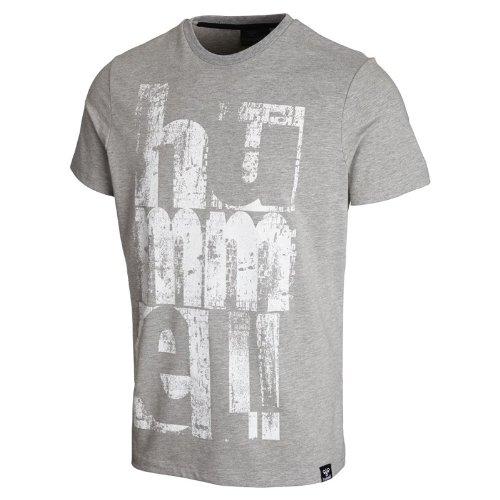 hummel SS Tee t-Shirt pour Homme Perez S Gris - Gris