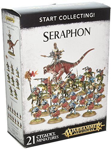 Games Workshop Warhammer Age of Sigmar Model Miniatures - Start Collecting! Seraphon