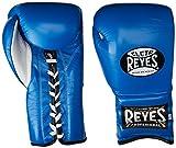 Cleto Reyes Lace Boxing Training Gloves, 16 oz., Blue