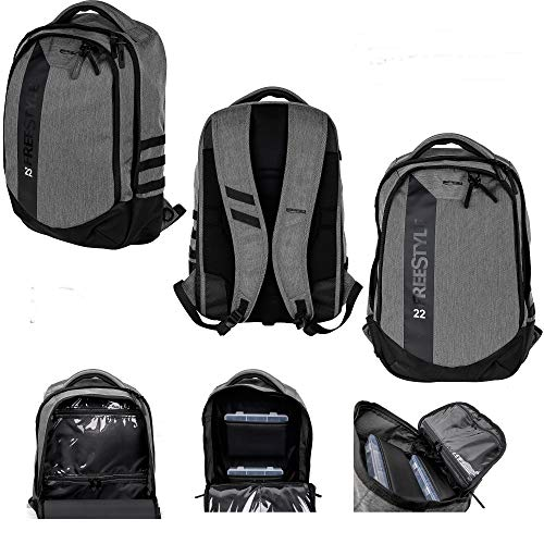 Spro Freestyle Backpack 22 50x32x17cm Angelrucksack mit 2 Köderboxen