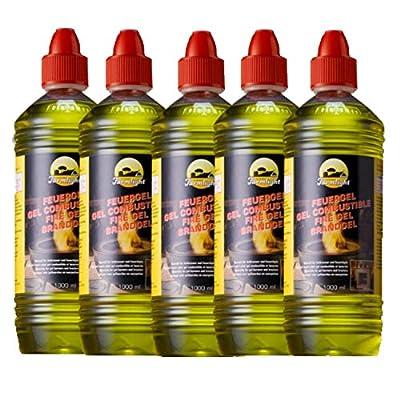 5 litres of fuel gel / gel / fuel