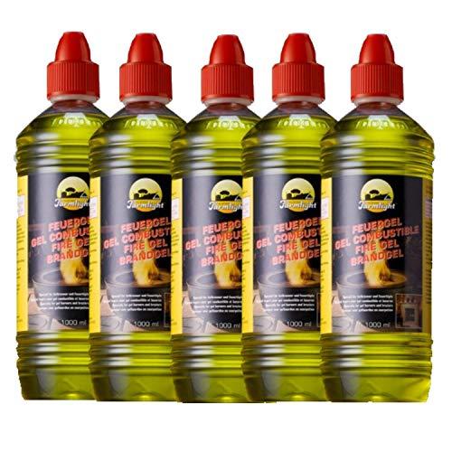 5 litros de etanol/Gel/combustible