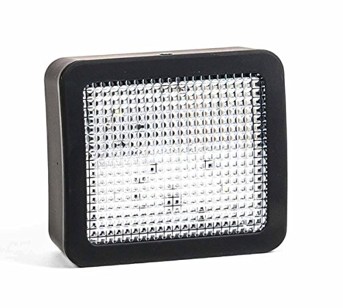 Unbekannt LED TV Simulator/Fernseh-Attrappe als Einbruch-Abschreckung, EIN-/Ausschalter, Nachtlicht, Batteriebetrieb