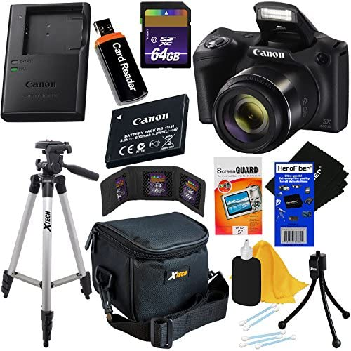 Canon Powershot SX420 is 20 MP Wi Fi Digital Camera with 42x Zoom Black Includes Canon NB 11LH product image