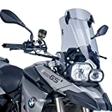 Puig 5914H WIND DEFLECT [SMOKE] BMW F800GS (08-17)/ F650GS PLUS (08-12)