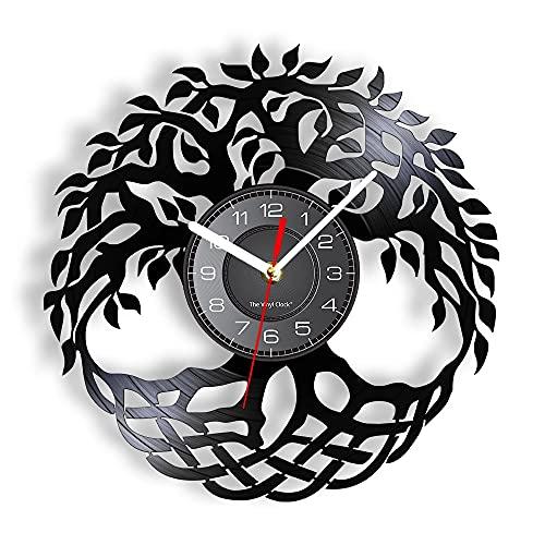 RFTGH 50 ° Aniversario Corona de ángeles Vinilo Retro LP Disco Reloj...