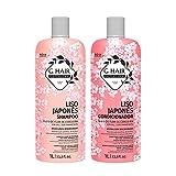 G.Hair Kit Shampoo e Condicionador Liso Japonês 1L