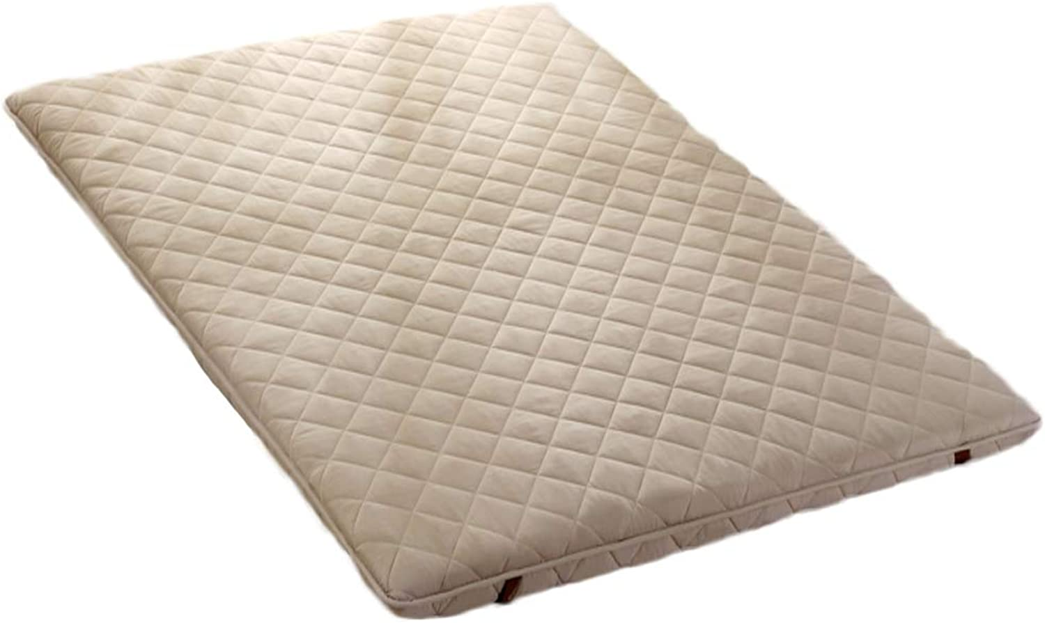 Breathable Anti-mite Mattress Folding, Comfort Polyester Coil Mattress Quilted Design Bed Sleep-E 100x200cm H 6cm