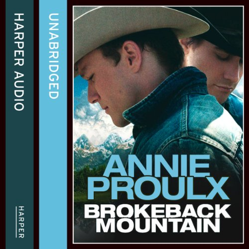 Brokeback Mountain audiobook cover art
