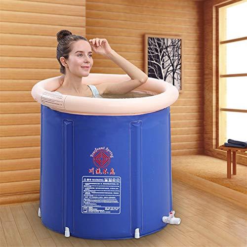Medium Size Opvouwbare bademmer draagbare badkuip voor volwassenen studenten, badkuip, koude dag, warm water, badkuip, hot ice, badkuipen, voor binnen en buiten, kinderzwembad met opblaasbare