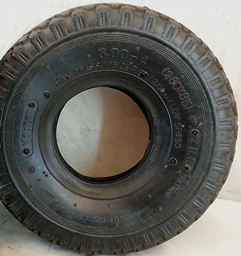 1 pneu en caoutchouc 3.00-4 pour mini-moto, chariots, quad