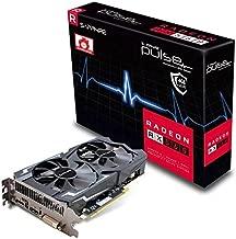Sapphire 11267-20-20G Radeon Pulse RX 560 4GB GDDR5 HDMI / DVI-D / DP OC (UEFI) PCI-E Graphics Card