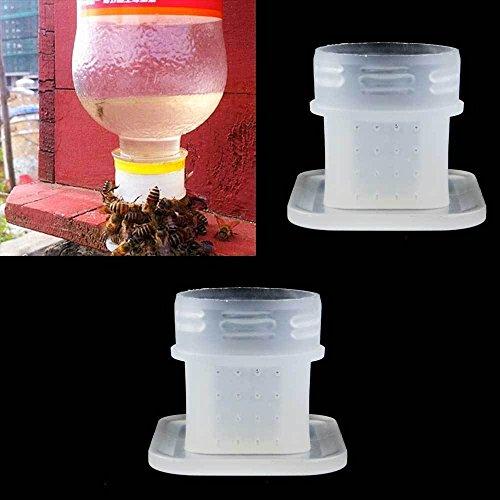 Vinciann 2x strumento apicoltura diffusore acqua api abbeveratoio attacco a bottiglia