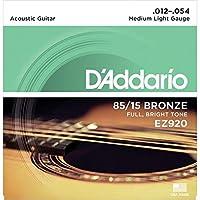 【3セット】D'Addario ダダリオ EZ920 アコースティックギター弦