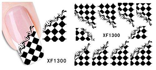 ZUMUii Butterme 5?Hojas Fashion 3D Nail Art U?as Pegatinas Nail Design Tattoo Productos Letter Wrap Nail Art Agua Transfer Adhesivos