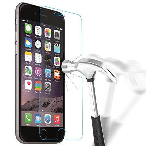 HQ-CLOUD 1 Film Vitre en Verre Trempé de Protection d'écran Transparent pour IPHONE 6 Plus / 6S Plus