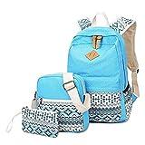 HONGYU-Schultaschen Lässig Canvas Rucksack Reise Umhängetasche for Mädchen und Jungen (Farbe : Style G)