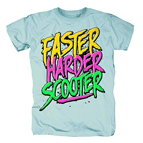 Scooter - Faster Harder Scooter T-Shirt (XXL)