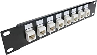 Cablematic - RackMatic TENRack:配线板 1U RJ45 UTP 猫。 5e 8 端口 10 \ '\' Keyst
