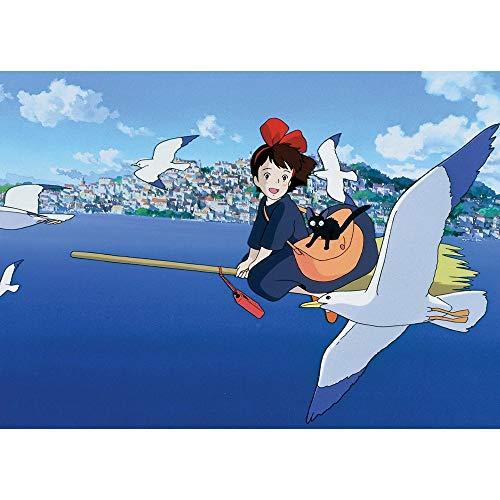 Ajwkob Kits de Pintura por números, Anime Pintura Digital DIY Fin de Semana de Halloween Juegos Casuales Lienzo Impreso Arte Imagen Dibujo (30x40cm)