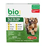 BioSpot Active Care Flea and Tick Collar for Small Dogs, 15-Inch