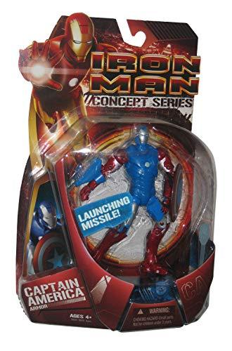 Hasbro Iron Man Movie Action Figure Capt. America Armor Iron Man