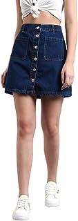 KOTTY Women's Cotton Regular Skirt