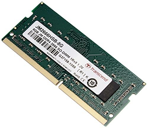 Transcend JM2666HSB-8G 8Go DDR4 2666Mhz SO-DIMM 1Rx8 1.2V