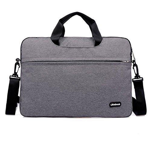 11.6-inch laptop schoudertas hoes met handvat en zijvak voor 11
