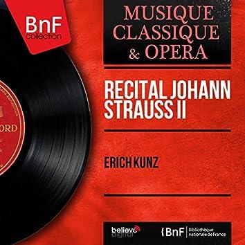 Récital Johann Strauss II (Mono Version)