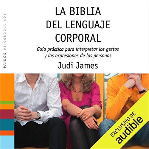 Diseño de la portada del título La biblia del lenguaje corporal