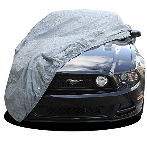OxGord Custom Fit Car Cover for Select Ford Mustang - in-Door Premium 2 Layers - Economical Alternative