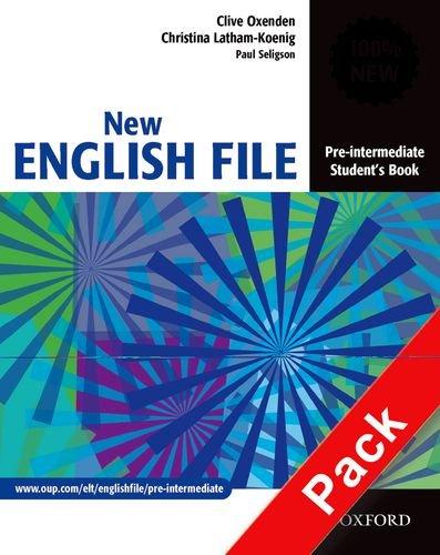 New english file. Pre-intermediate. Student's book-Workbook. With key. Per le Scuole superiori. Con Multi-ROM