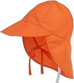 iClosam Chapeau Bébé Filles Anti- UV Ete, Chapeau de Soleil Plage Protection de Cou avec Corde réglage pour Bébé Fille Gar...