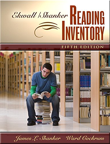 Ekwall / Shanker Reading Inventory
