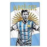 Kunstdruck Argentinien Messi Argentinien Fußball