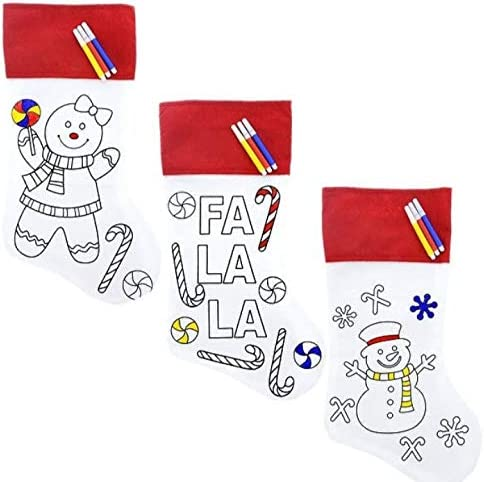 Cheap mail order shopping Crafters Square Max 70% OFF Christmas Holiday 3 Pack-Color Your-Own Decorate