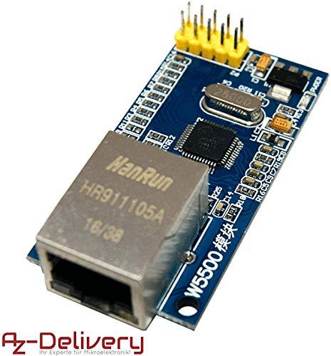 AZDelivery ⭐⭐⭐⭐⭐ W5500 Ethernet Netzwerk Internet Modul für Arduino