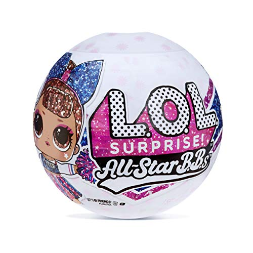 L.O.L. Surprise! All-Star B.B.s Sports Series 2 Cheer Team Sparkly Dolls with 8 Surprises (571780)