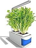 TTLIFE Smart Hydroponics,Luces de Jardín para Interiores,Lámpara de Crecimiento de Plantas y Lámpara de Mesa de iluminación dos Modos,Kit con Luz LED de Cultivo Para Hierbas,Flores y Verduras