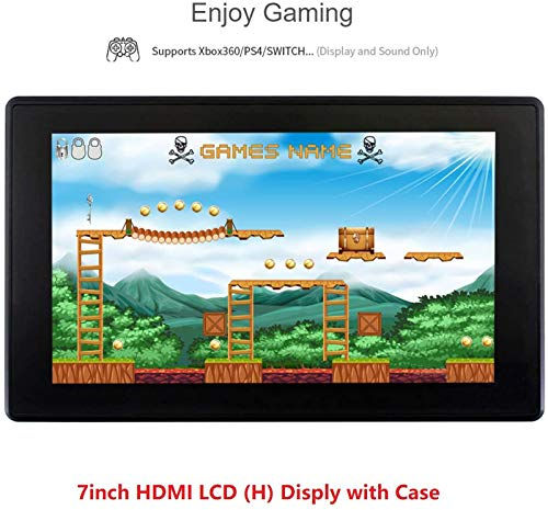 ingcool 7inch HDMI LCD (H) Display with Case