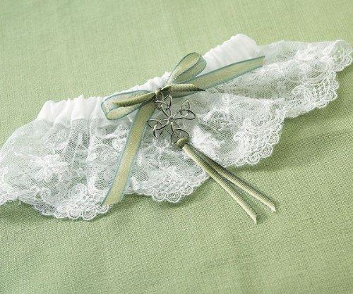 Celtic Charm Bridal Garter