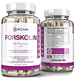Natural Forskolin Max Strength Formula- 500mg Coleus Extract, Keto Diet Pills That Work Fast for Women & Men, Maximum Slim Look, Lose Fast for Women, Rapid Tone, Luna Trim, MD