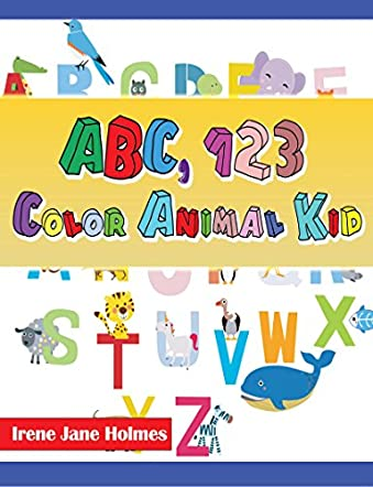 ABC 123 Color Animal Kid