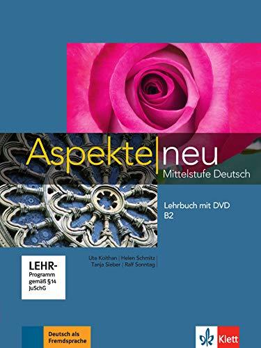 Aspekte neu Mittelstufe Deutsch Lehrbuch mit DVD B2 [Lingua tedesca]: Vol. 2