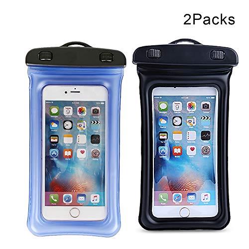 Xiaohe Waterdichte koffer Universele draagtas [2 pakketten] met draagbaar snoer voor iPhone / 6 6plus / 6S / 6; Samsung S7 / S7 Edge en andere 5,5 inch mobiele telefoons