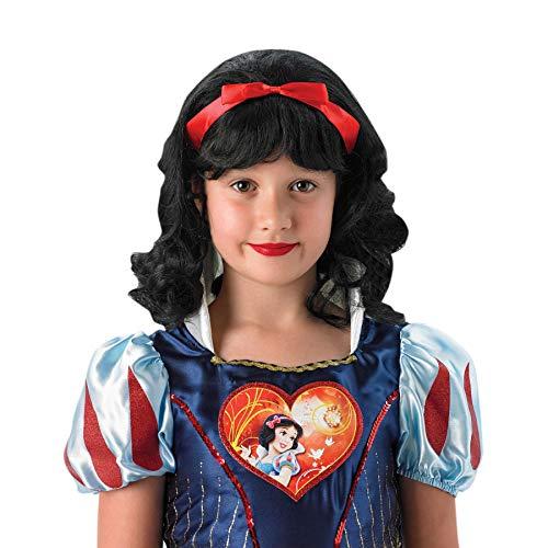Rubie's-déguisement officiel - Disney- Déguisement Perruque Blanche-Neige- I-9907